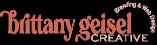 Brittany Geisel Creative - Primary Logo